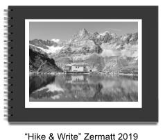 """Hike & Write"" Zermatt 2019"